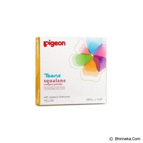 PIGEON Refill Compact Powder Squalane 14gr [PR080307] - Yellow - Make-Up Powder